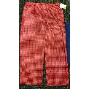 Pants - Red lounge pajama pants